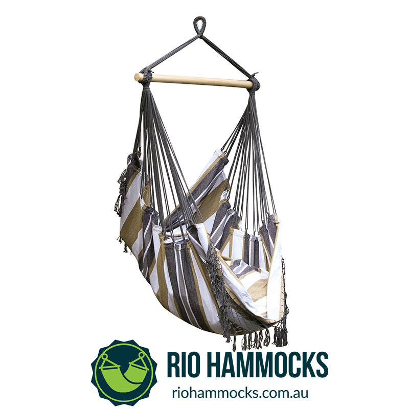 Brazilian Hammock Chair (Desert Moon)