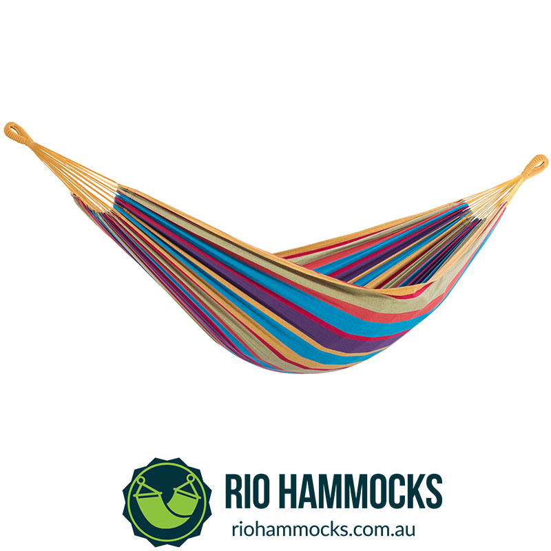 Brazilian Style Hammock - Double (Tropical)