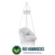Deluxe Macrame Hanging Chair with cushion